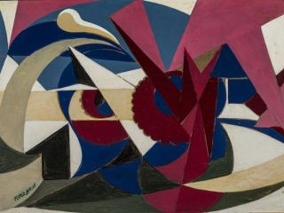 Image Credit: Lines Of Force Of An Enamelled Landscape by Giacomo Balla