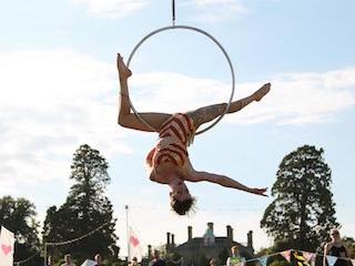 Curious Arts Festival at Pylewell Park in Hampshire