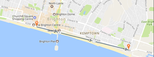 Top 5 Running Routes in Brighton