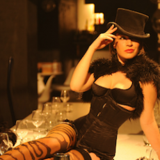 An interview with burlesque star Kitty Bang Bang