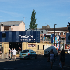 Spark:York's Shipping Container Shopping Experience